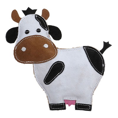 Country Tails Daisy Cow Natural Dog Toy