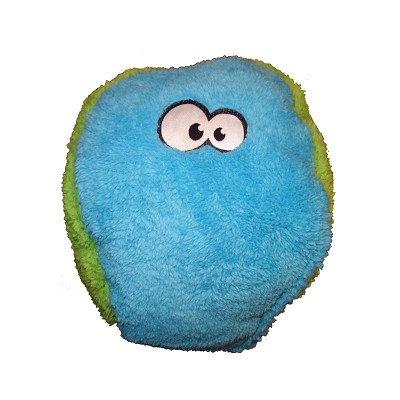 Cycle Dog Duraplush FuzzBall Dog Toy, Blue, Medium