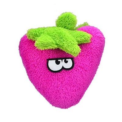 Cycle Dog Duraplush Strawberry Eco-Friendly USA Dog Toy