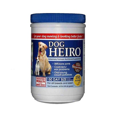 Heiro for Dogs Natural Supplement, 150 Scoops