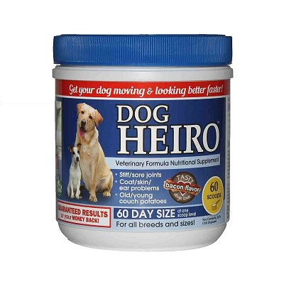 Heiro for Dogs Natural Supplement, 60 Scoops