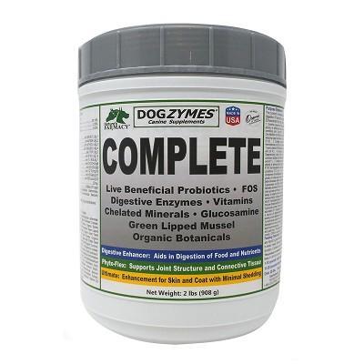 Nature's Farmacy Dogzymes Complete Dog Supplement, 2-lb