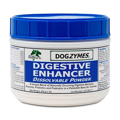 Nature's Farmacy Dogzymes Digestive Enhancer Dissolvable Powder Dog Supplement, 1-lb