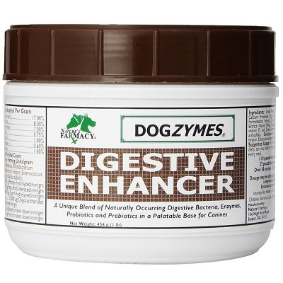 Nature's Farmacy Dogzymes Digestive Enhancer Dog Supplement, 1-lb