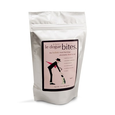 Dr. Harvey's Le Dogue Bites Beef Freeze-Dried Dog Treats, 3-oz bag