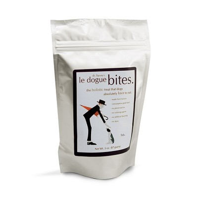 Dr. Harvey's Le Dogue Bites Fish Freeze-Dried Dog Treats, 3-oz bag