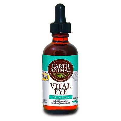 Earth Animal Vital Eye Remedy for Dogs & Cats, 2-oz Bottle