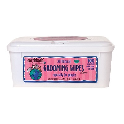 Earthbath Grooming Wipes For Puppies