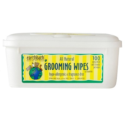 Earthbath Hypo-Allergenic Grooming Wipes For Dogs