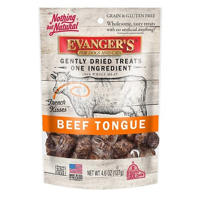 Evanger's Nothing but Natural Beef Tongue Freeze-Dried Dog & Cat Treats