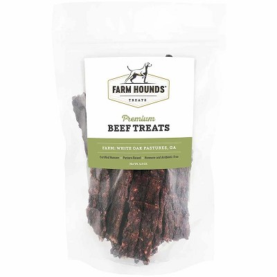 Farm Hounds Premium Beef Treats for Dogs, 4.5-oz Bag