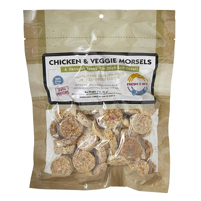 Fresh is Best Freeze-Dried Chicken & Veggie Morsels Dog Treats