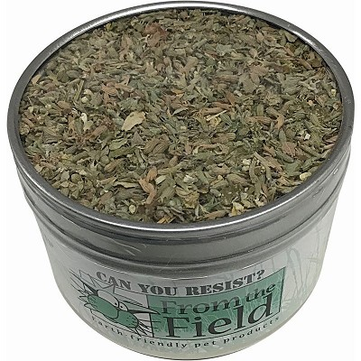 From The Field Natural Catnip Leaf & Flower for Cats, 1-oz Tub