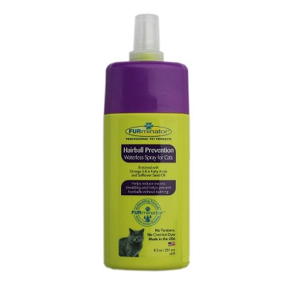 Discontinued, FURminator Hairball Prevention Waterless Spray For Cats