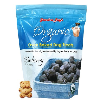 Grandma Lucy's Organic Blueberry Oven Baked Dog Treats, 14-oz bag