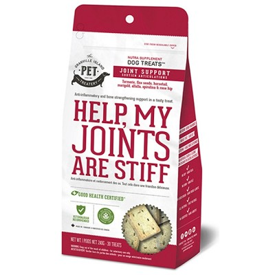 The Granville Island Pet Treatery Joint Support Nutra Supplement Dog Treats