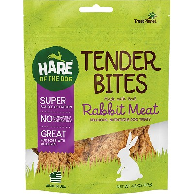 Hare of the Dog Rabbit Tender Bites Dog Treats