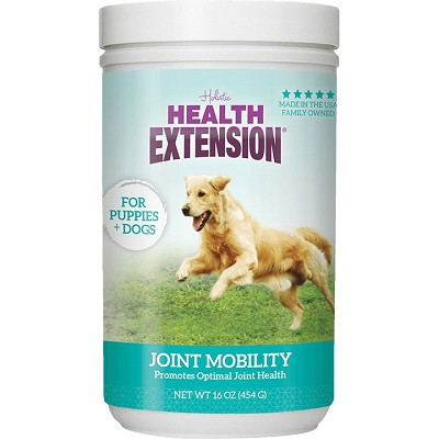 Health Extension Joint Mobility Dog Supplement, 16-oz