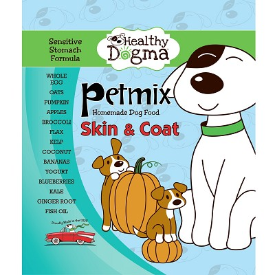 Healthy Dogma PetMix Skin & Coat Natural Dog Food 10 lb