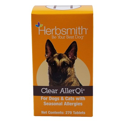 Herbsmith Clear AllerQi Herbal Allergy Dog Supplement, 270-Count