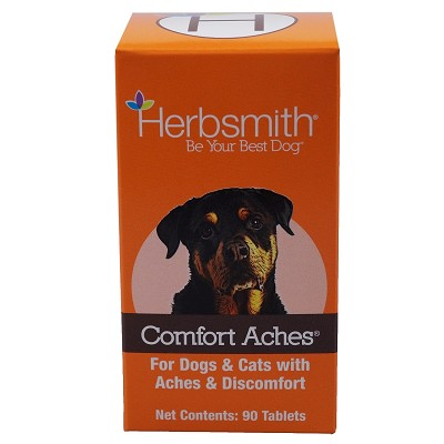 Herbsmith Herbal Blends Comfort Aches Tablets Dog & Cat Supplement, 90-Count