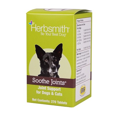 Herbsmith Soothe Joints Herbal Dog Supplement, 270 Count
