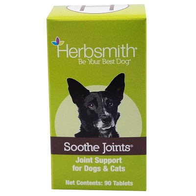 Herbsmith Herbal Blends Soothe Joints Tablets Dog & Cat Supplement, 90-Count