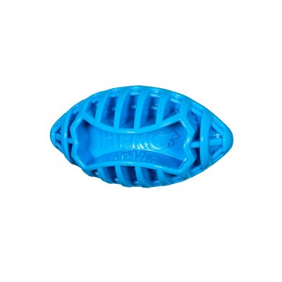 HERO USA Football Dog Toy, Blue, Small