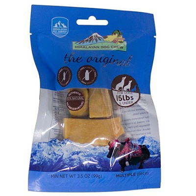 Himalayan Dog Chew Hard Cheese Natural Dog Treats, Small
