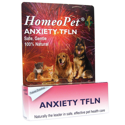 HomeoPet Anxiety TFLN Relief Remedy for Dogs and Cats
