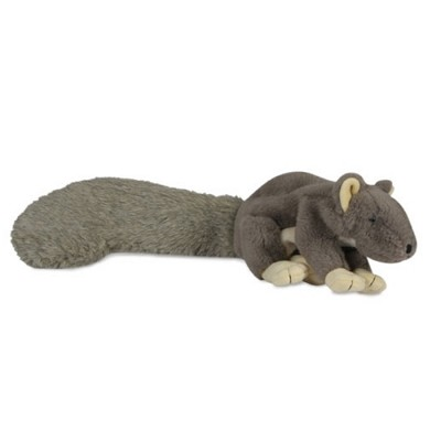 HuggleHounds Little Feller Squirrel Dog Toy