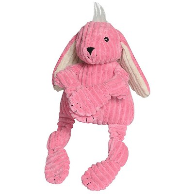HuggleHounds Knotties Bunny Dog Toy, Large