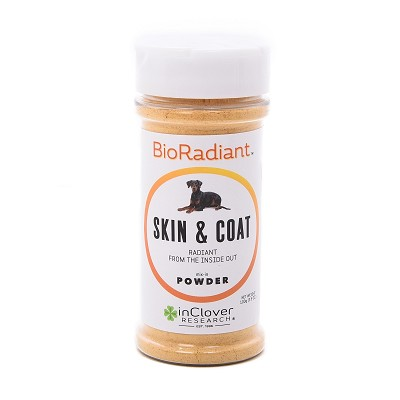 In Clover BioRadiant Skin & Coat Powder Dog Supplement