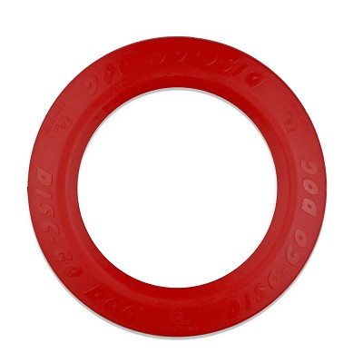 Jersey Dog Co. Disc-Go-Dog USA Dog Toy, Red