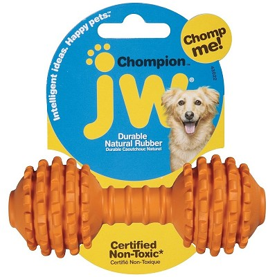 JW Pet Chompion Rubber Dog Toy, Heavyweight