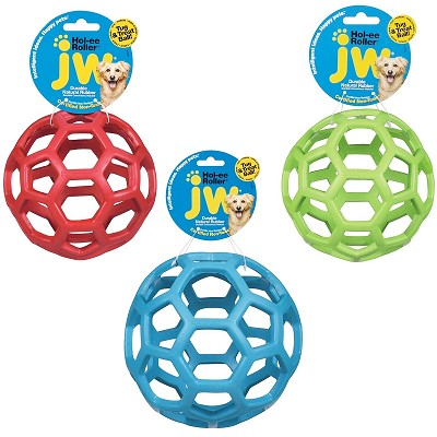 JW Pet Hol-ee Roller Ball Dog Toy, 8""
