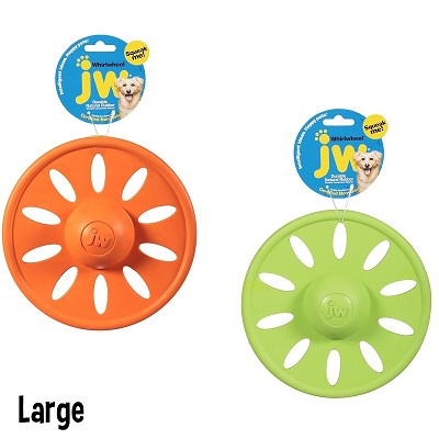 JW Pet WhirlWheel Frisbee Dog Toys, Large