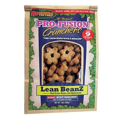 K9 Granola Factory Pro-Fusion Crunchers Lean BeanZ Recipe Dog Treats