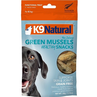 K9 Natural Green Mussel Bites Freeze-Dried Dog Treats