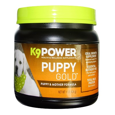 K9 Power Puppy Gold Formula Dog Supplement, 1-lb