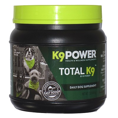 K9 Power Total K9 Daily Dog Supplement, 1-lb
