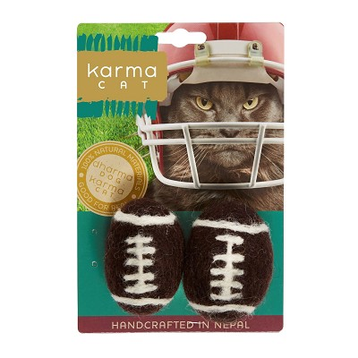 Karma Cat Football Wool Toys