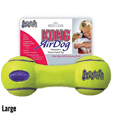 KONG AirDog Dumbbell Dog Toy, Large