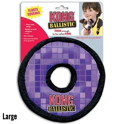 Kong Ballistic Ring Dog Toy, Large