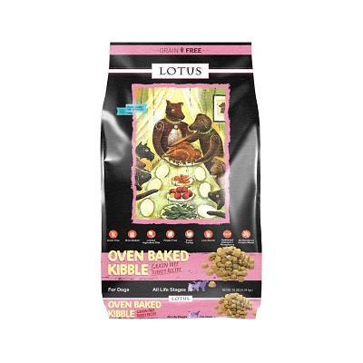 Lotus Oven-Baked Grain-Free Turkey Recipe Dry Dog Food, 10-lb Bag