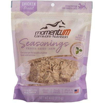 Momentum Chicken Breast Seasonings Food Topper for Dogs & Cats, 4-oz Bag