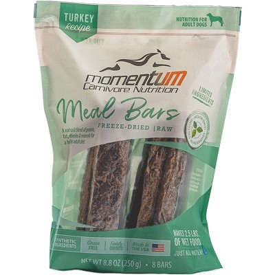 Momentum Turkey Recipe Freeze-Dried Meal Bars Dog Food