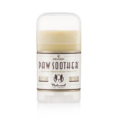 Natural Dog Company Organic Paw Soother Healing Balm Stick for Dogs, 2-oz