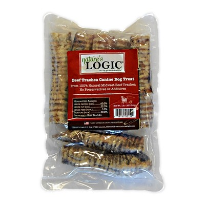 Nature's Logic Beef Trachea for Dogs, 1-lb bag