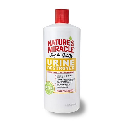 Nature's Miracle Just For Cats Urine Destroyer